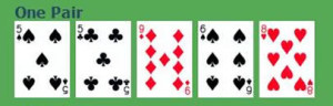 one-pair-poker-hand